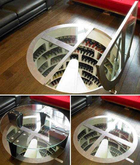 *Secret Spirals: Underground Home Wine Cellar Spaces - http://weburbanist.