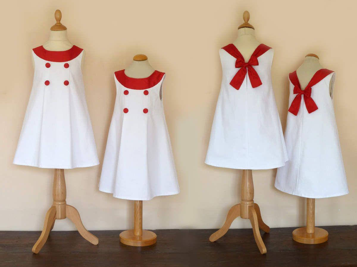 cortège du mois d'aôut: robe valérie, robe marine, robe Emmanuelle