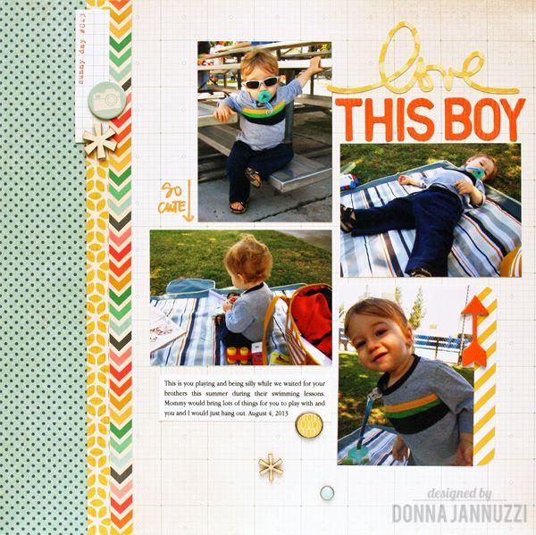 love this boy - Scrapbook.com