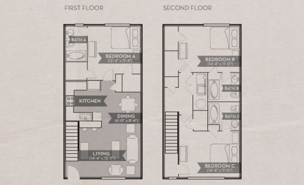 Nothing Found For Floorplans 4 3 Br Townhome Floor Plans Apartment Plans Townhouse