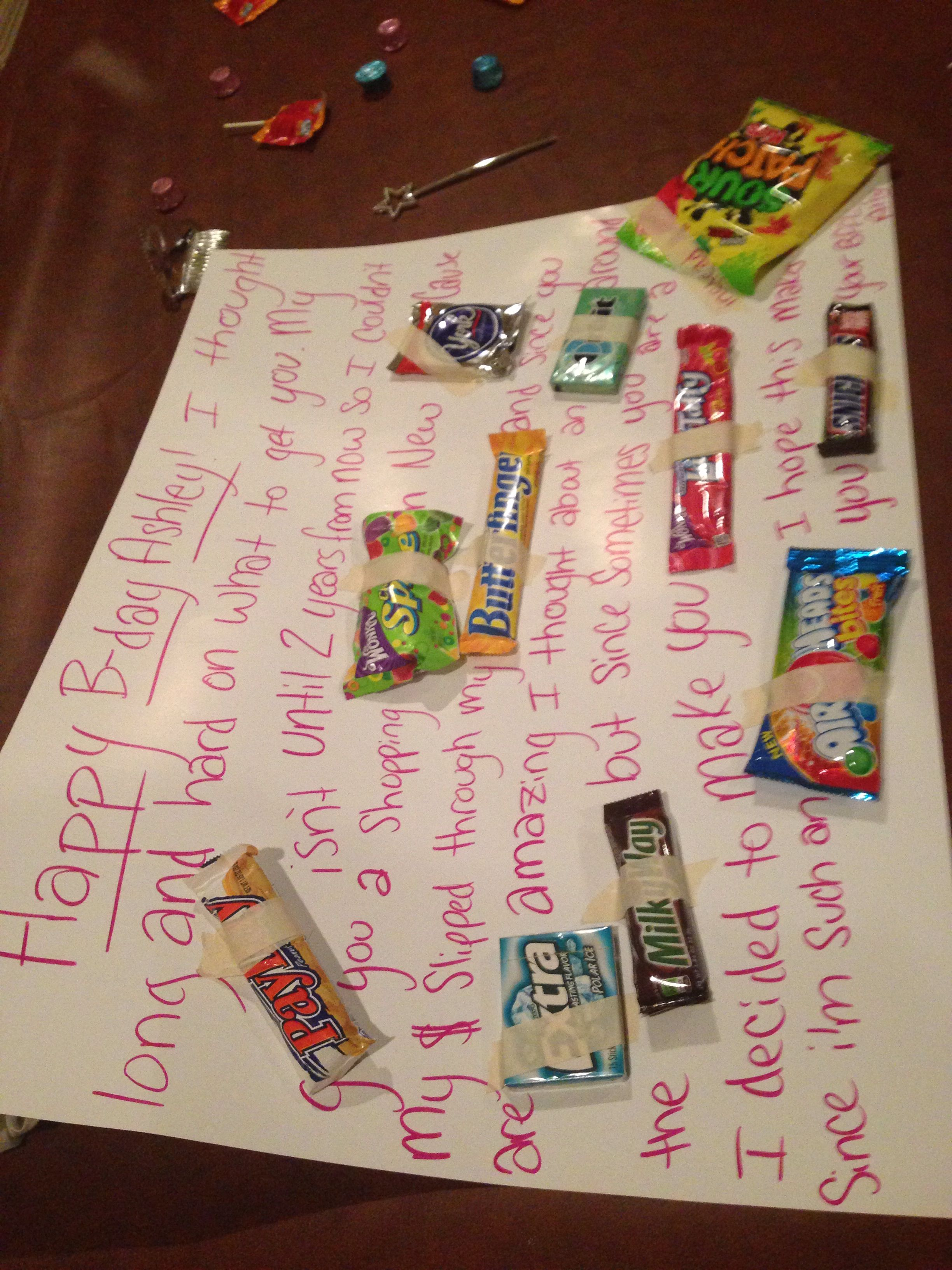Cute cheap birthday present idea birthday gifts