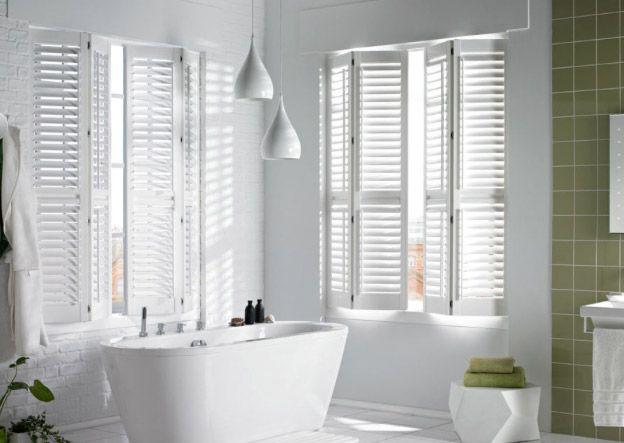 Shutters raamdecoratie badkamer | badkamer | Pinterest | Vans