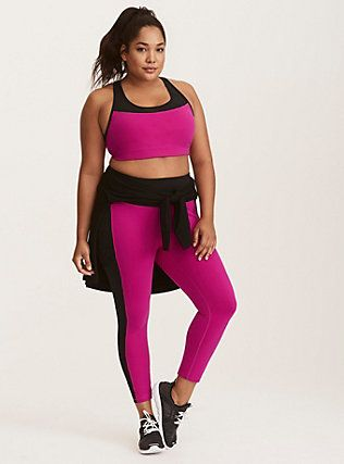 73dd58c3d0c79 Bright and Beautiful Active Set,   FITNESS   Plus size workout ...