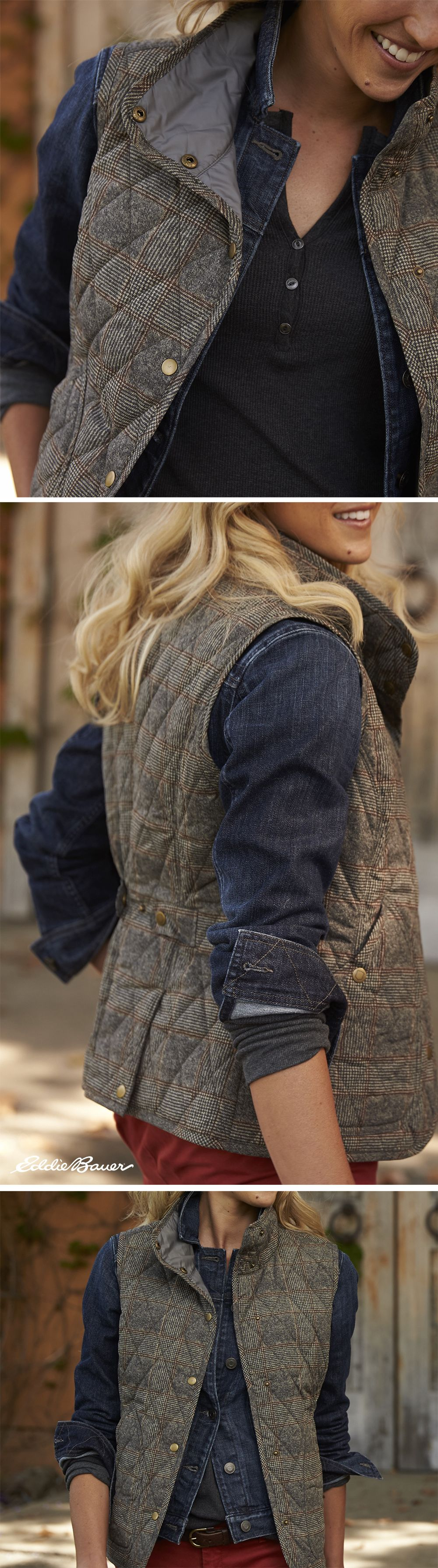 The Year Round Vest Plaid Light Enough For Spring And