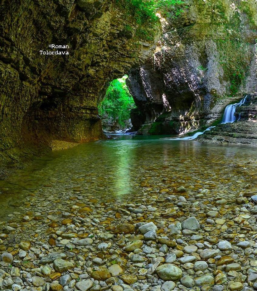 Martvili canion, Georgia