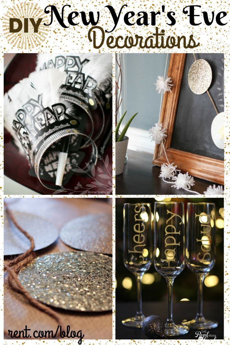 DIY New Year's Eve Decorations and Tablescape for Under ...