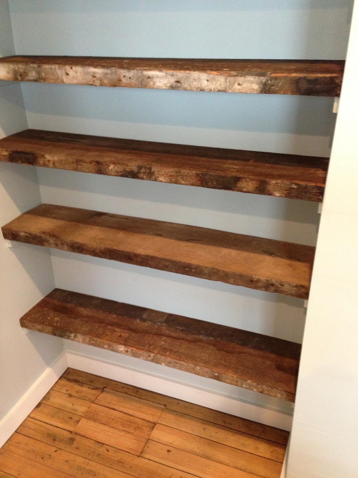Reclaimed Wood Shelves Google Search Floating Shelves Diy