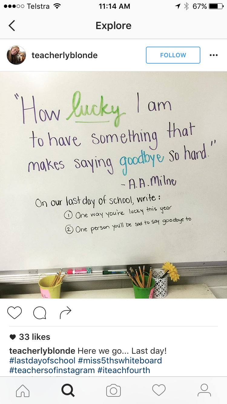End of school year whiteboard | Morning Meeting/Message | Pinterest ...
