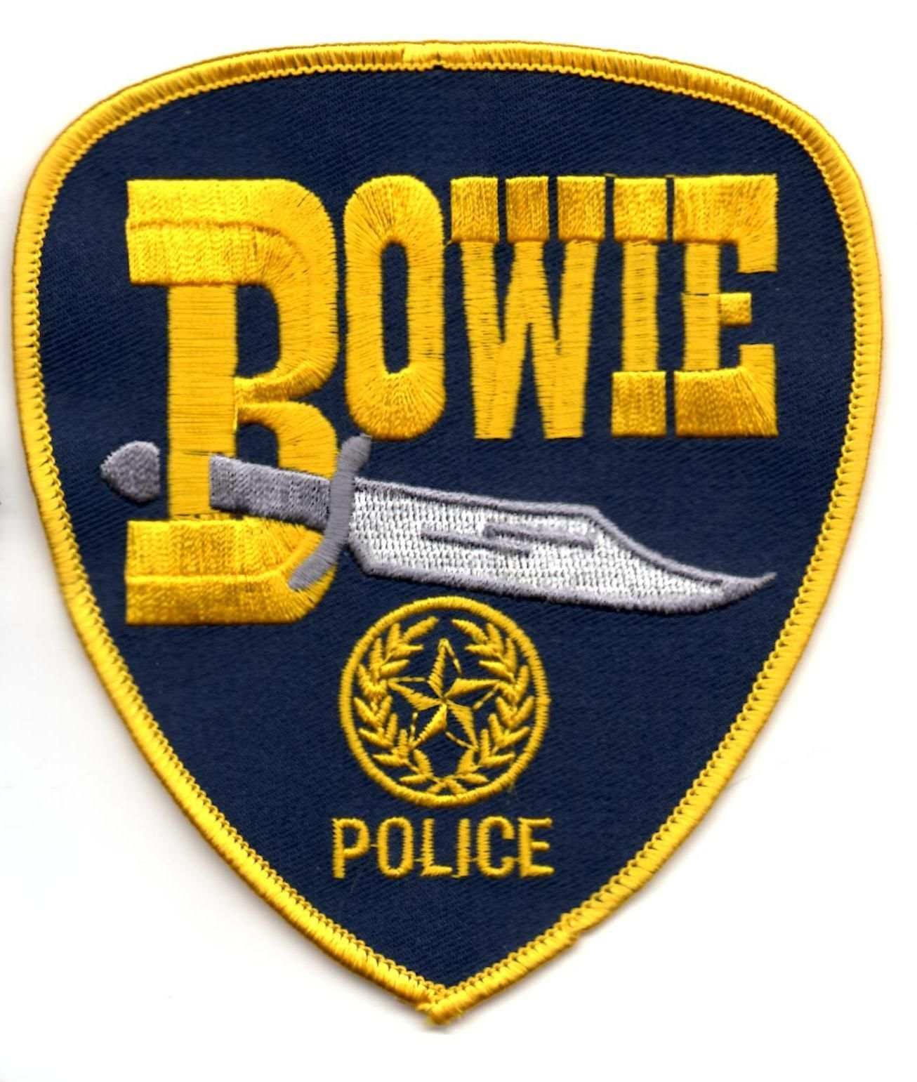 Bowie Police Patch Texas