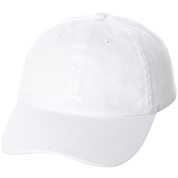 5a90558b518 Swell Strap Back Cap White ( 3.07) ❤ liked on Polyvore featuring men s  fashion