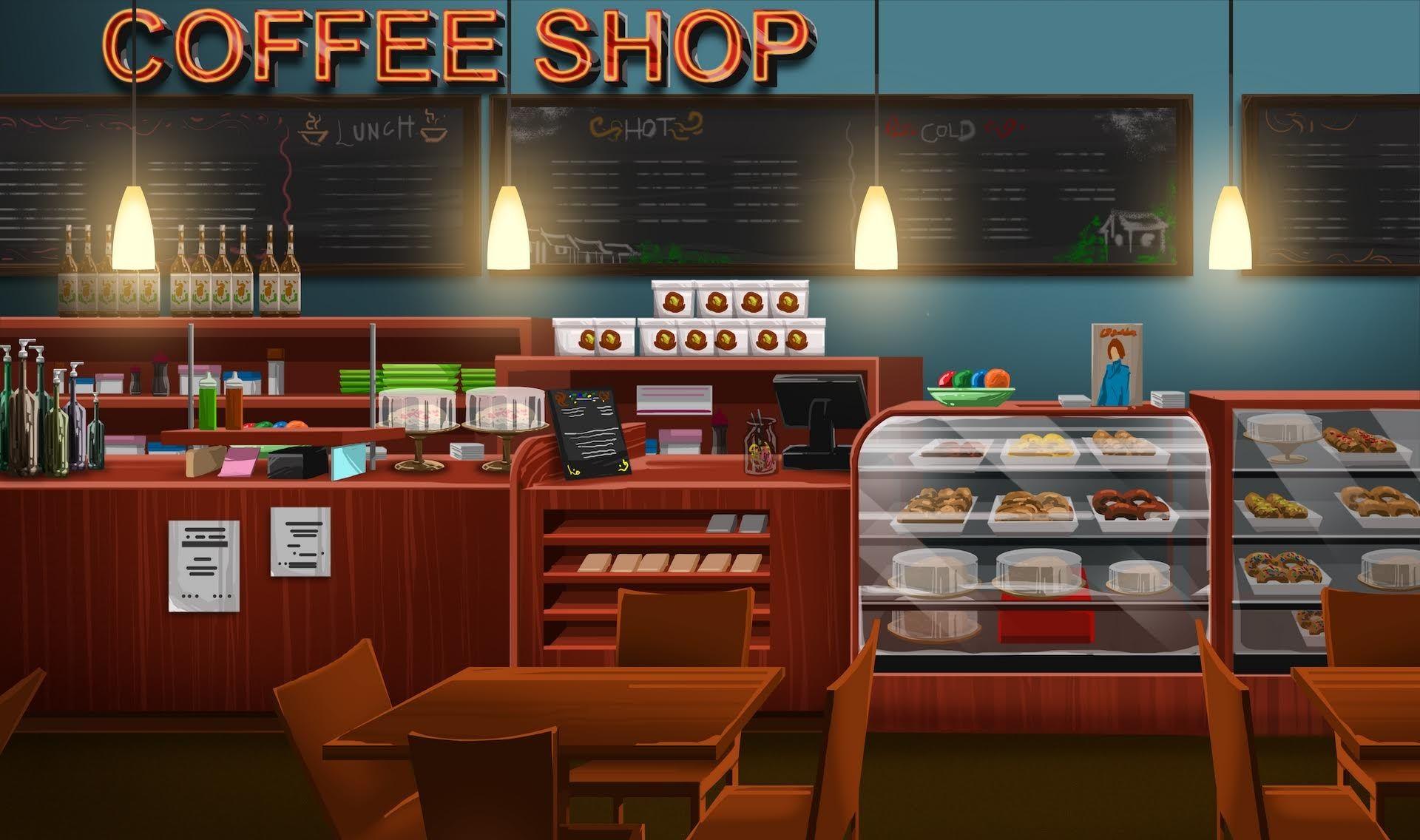 INT. COFFEE SHOP LARGE EpisodeInteractive Episode Size