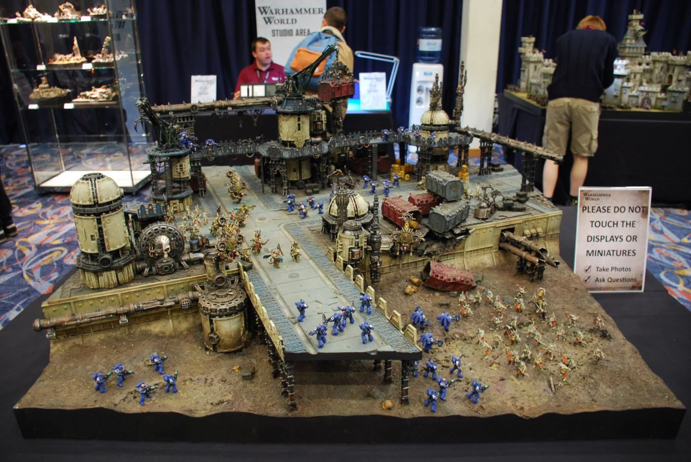 Warhammer 40k 8th Edition Display | terrain | 40k terrain, Warhammer