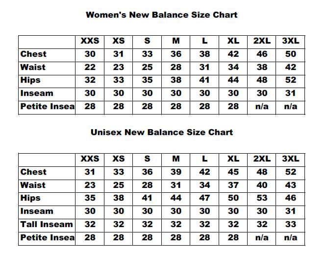 new balance minimus sizing guide