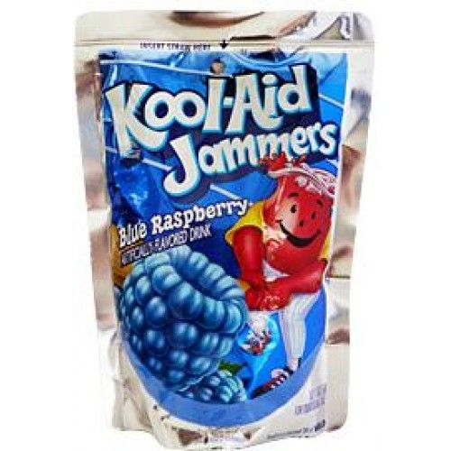 Blue Kool Aid Jammers Kool Aid Frosted Flakes Cereal Box Raspberry