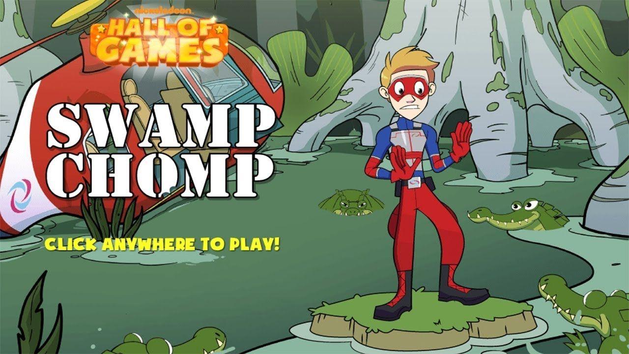 Henry Danger Swamp Chomp Nickelodeon Hall of Games.