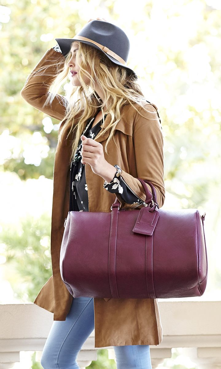 db0a3a6d2a38 The perfect travel bag for overnight or weekend trips!