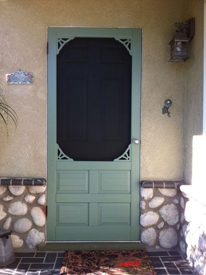 front door screensCoppa Woodworking Wood Screen Doors and Wood Storm Doors