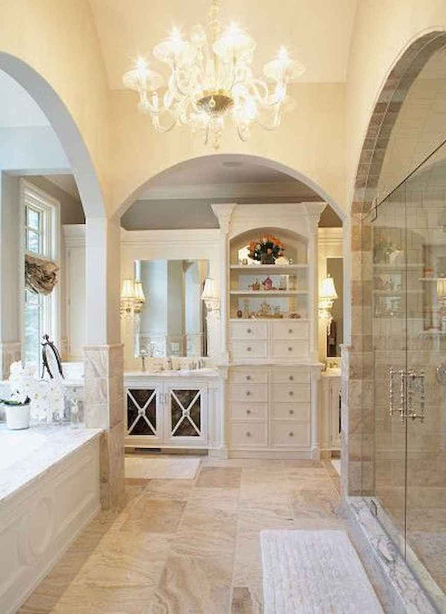 01 Inspiring French Country Bathroom Design Ideas French Country