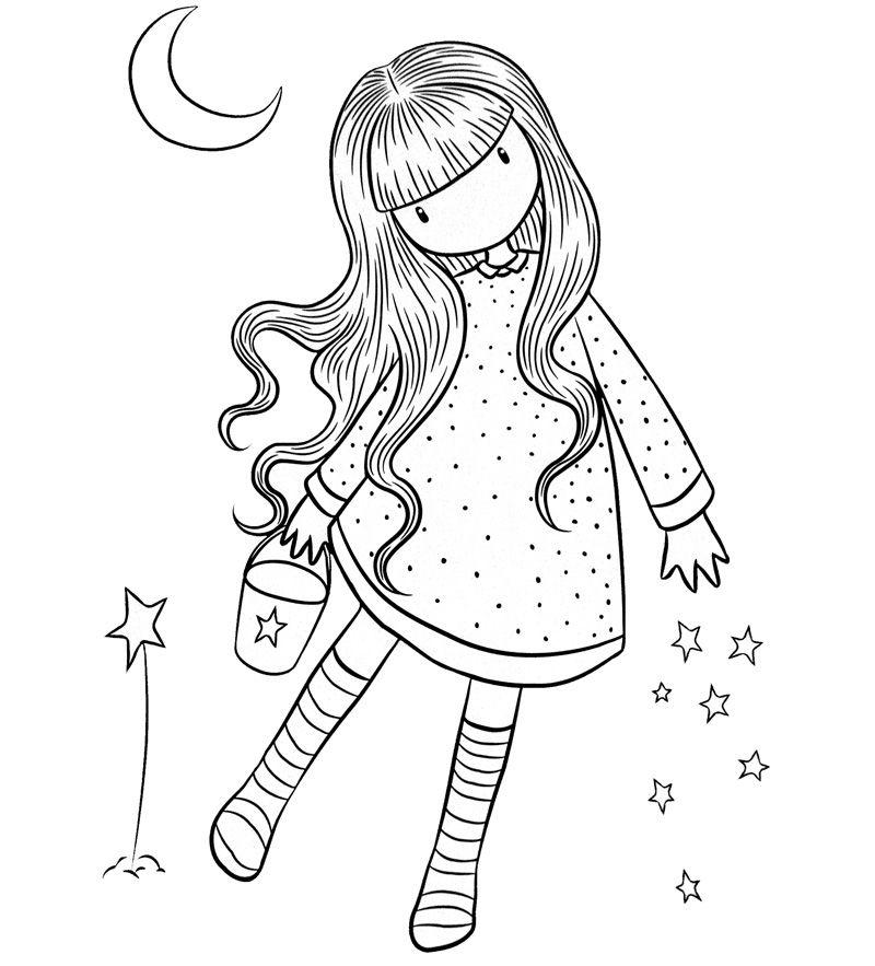 Dibujos de muñecas Gorjuss para colorear e imprimir gratis ...