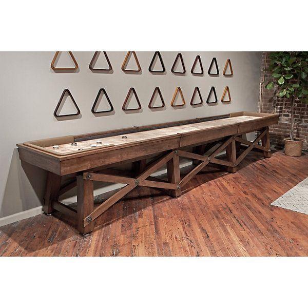 Custom Shuffleboard Table And Gameroom Decor