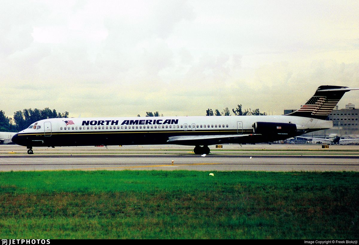 North American Airlines Mcdonnell Douglas Md 80 In 2020 North American American Airlines Air Carrier