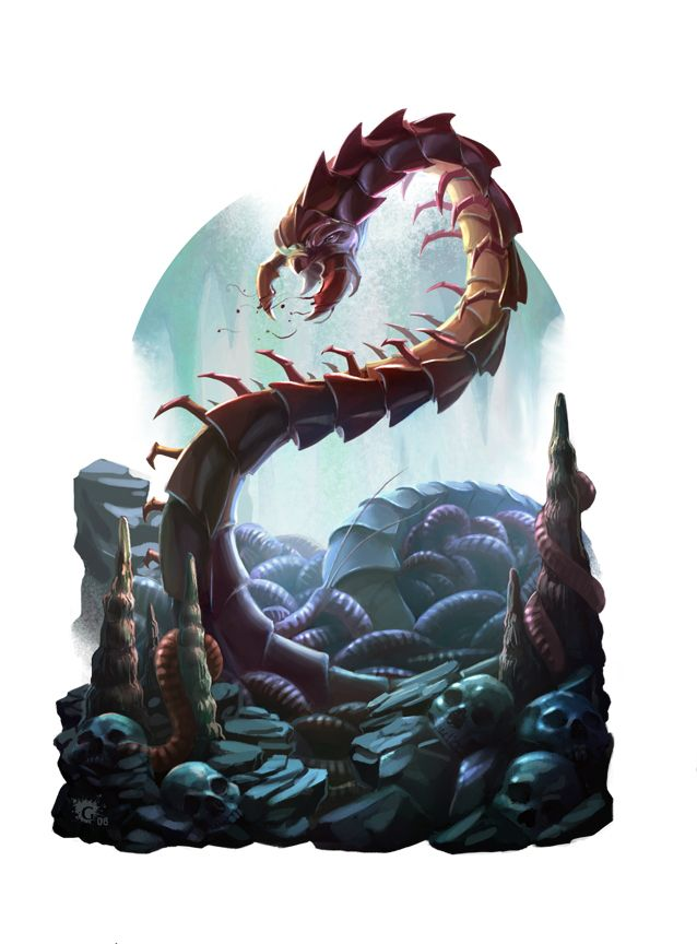50+ Centipede monster ideas