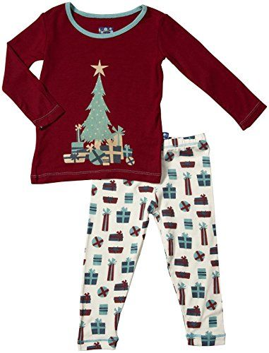 Kickee Pants Print PJ Set 3T or 4T