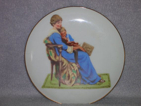 Collector's plate for sale in my shop.