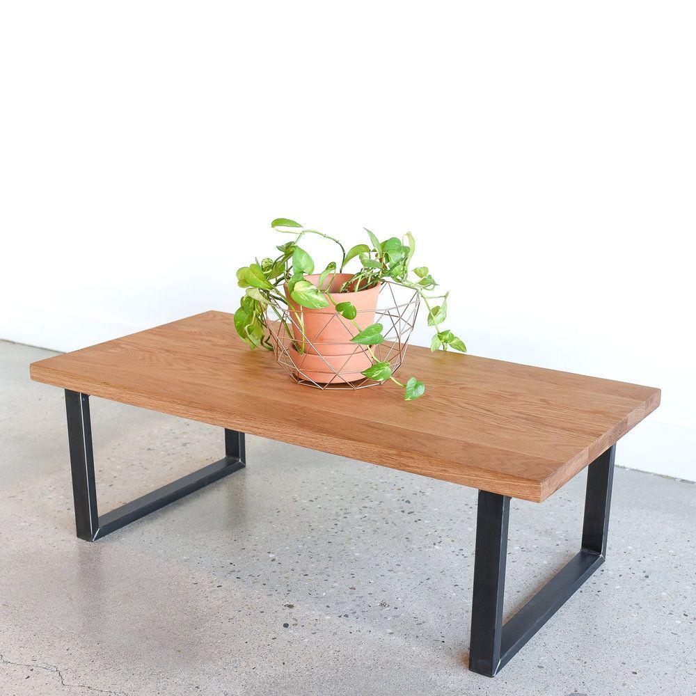 Modern White Oak Coffee Table What We Make Coffee Table White Oak Coffee Table Oak Coffee Table [ 1000 x 1000 Pixel ]