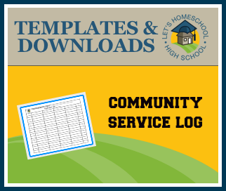 Download  Community Service Log  College Admission Homeschool