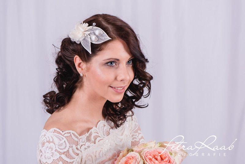 Braut haarschmuck mit schleier  Braut Haarschmuck, Haarspange, Schleier, Modell 6A | Braut ...