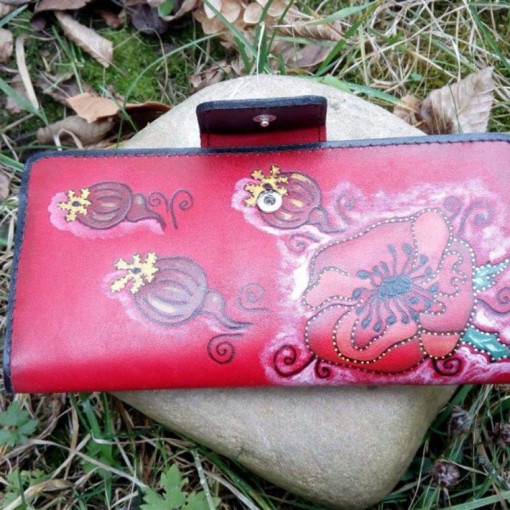 Purse Leather Dobrodiy (054)  #skinaff #Womenswallets #handmade