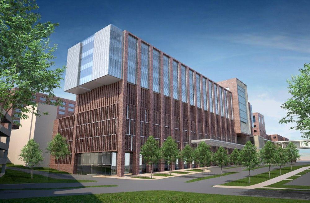 Gallery of SOM breaks ground at The Christ Hospital in Cincinnati - 16 | Hospital. Architecture photography. Cincinnati