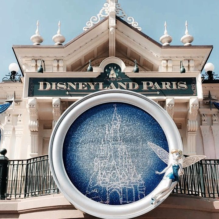 Pin By Joegoofy On Disney Eurodisney Paris France Eurodisney