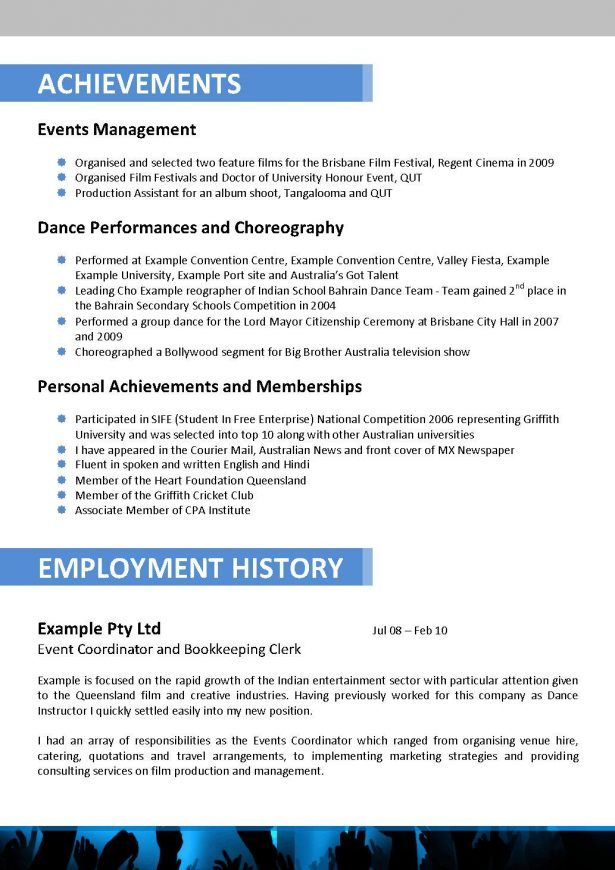 Special education teacher resume and cover letter Bachelor of - event planner sample resume