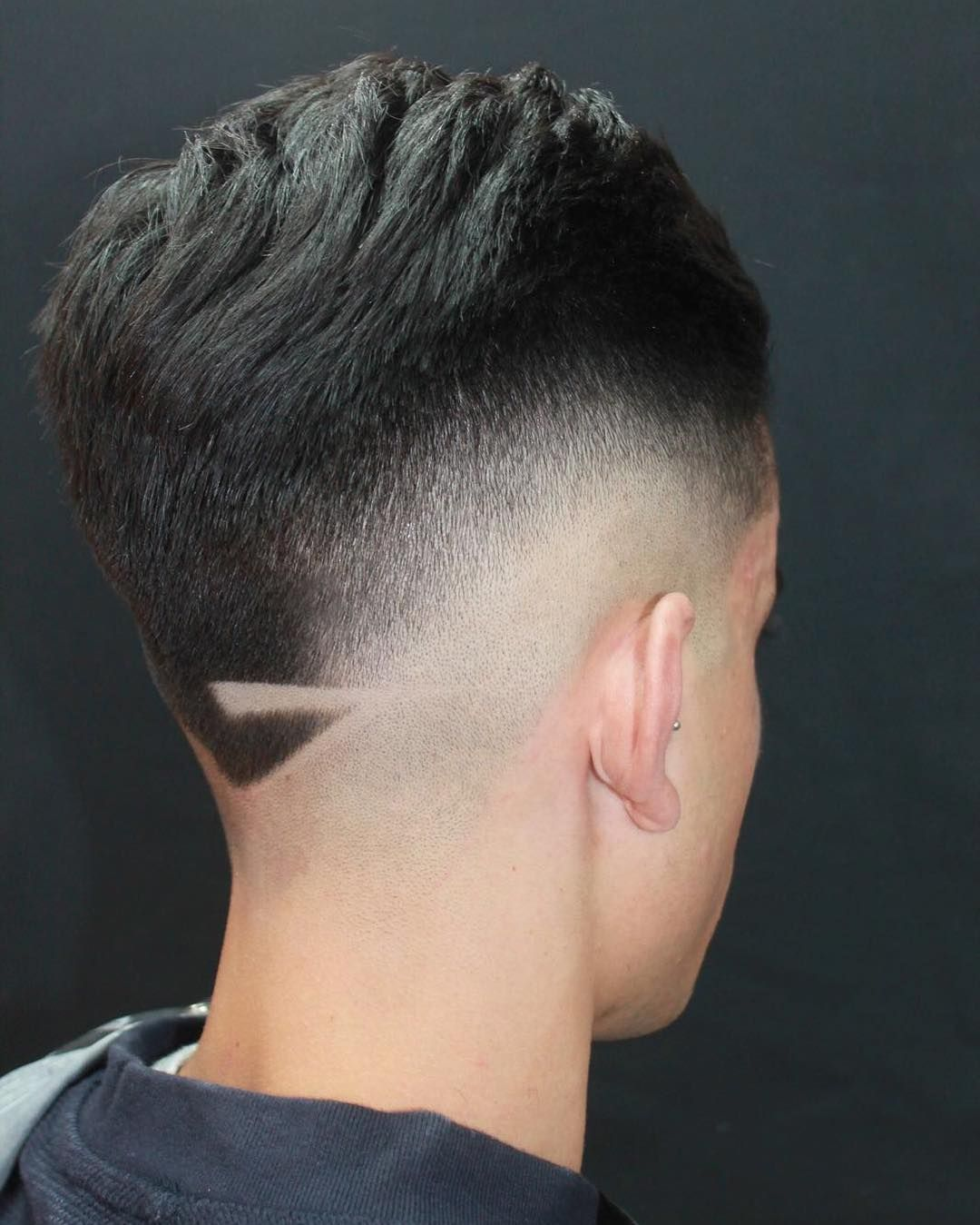 Haircut styles short on sides long on top menus hair haircuts fade haircuts short medium long buzzed