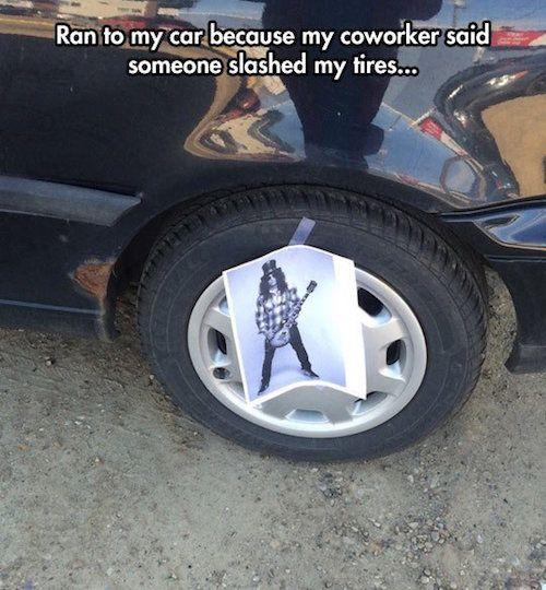 Funny Photos Funny Memes Funny Pics Lolz Slash Tire Lol