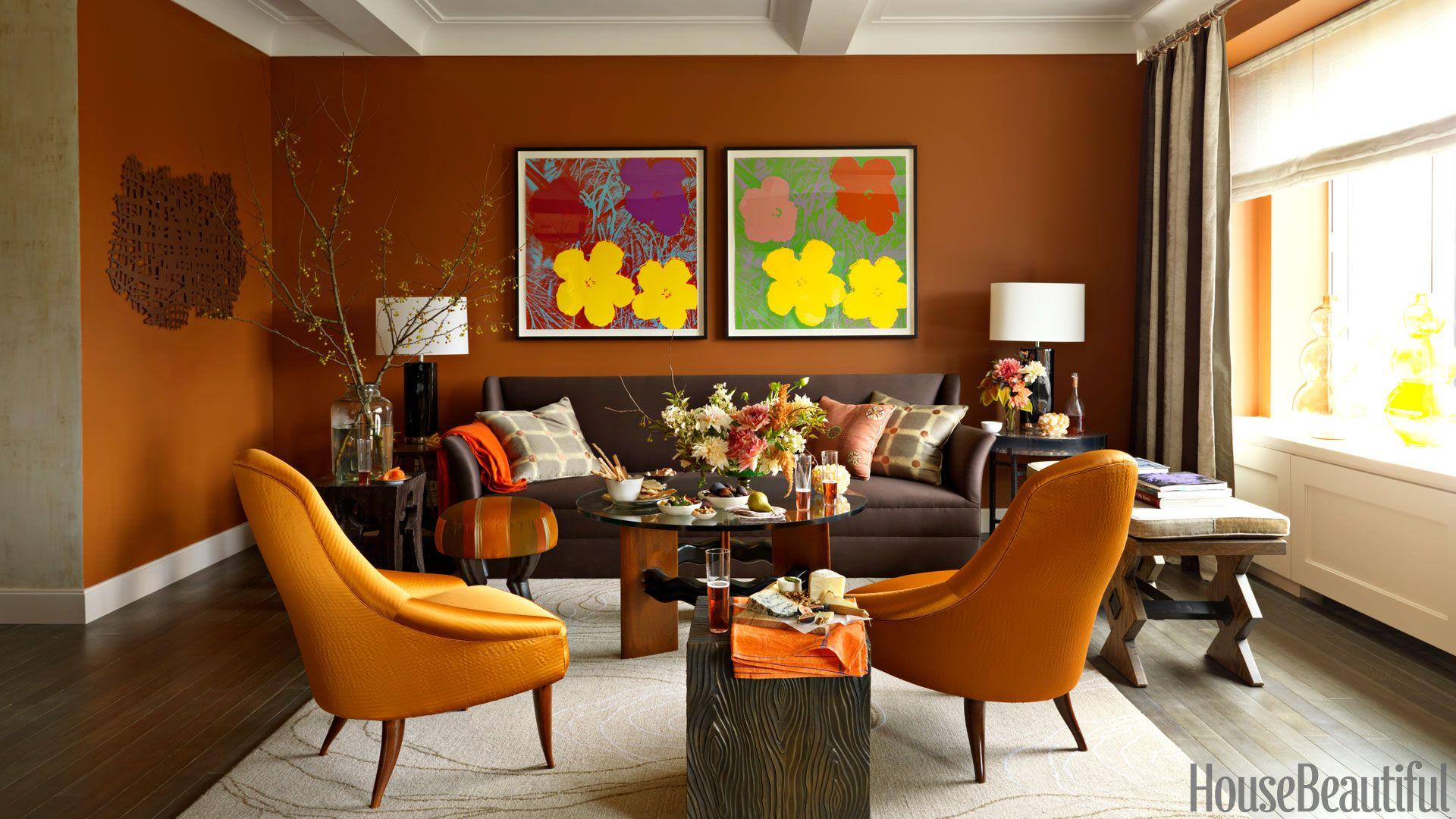 Amazing Spotlight in Orange Room | NDA - Interior Design - UNIT 09 ...