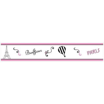 Sweet Jojo Designs Paris Wallpaper Border Multi Paris