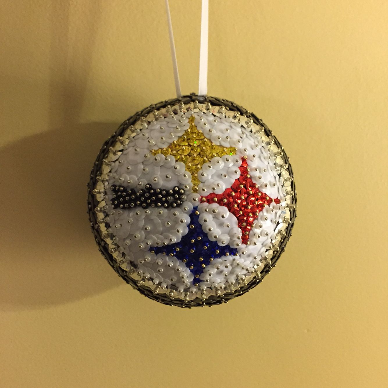 Steelers ornament | Ornaments, Christmas ornaments ...