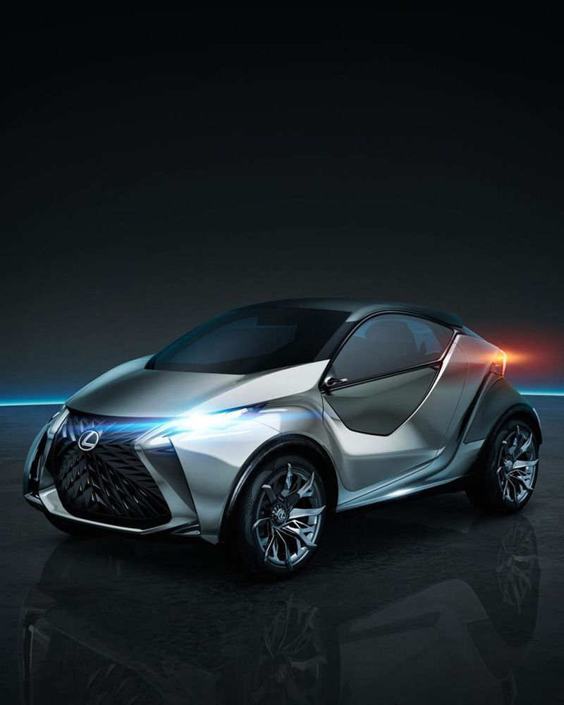 High Quality The Lexus LF SA Concept Vehicle Is The Result Of Pen, Paper And The Awesome Design