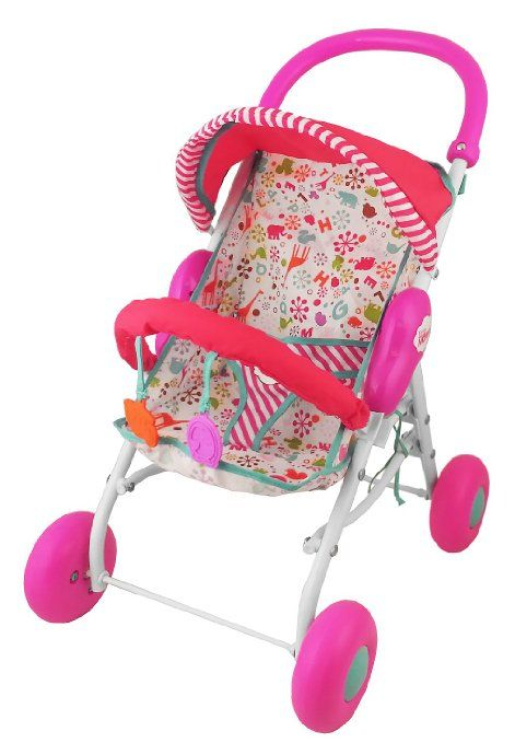 Amazon Com Fisher Price Little Mommy Baby Doll Stroller