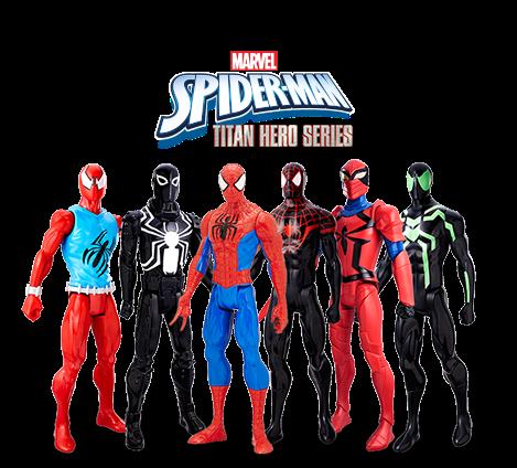 Pin On Titan Hero Series Spiderman