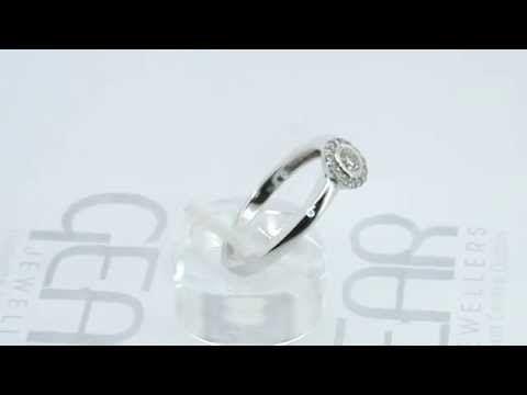Gear Jewellers Dublin White Gold Diamond Engagement Ring 0180033 Engagement Rings Diamond Engagement Rings White Gold Diamond Engagement Ring
