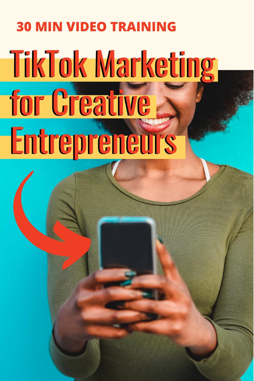 Tiktok For Business Video Training Mkw Creative Co Business Video Social Media Advice Training Video