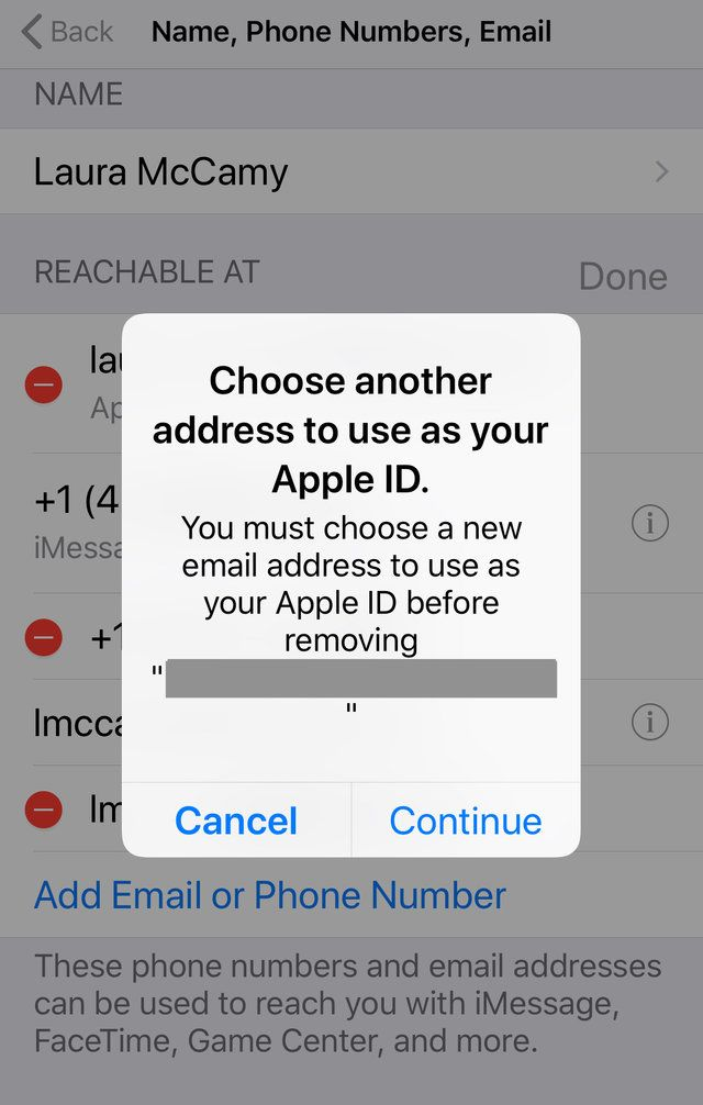 How To Change Your Apple Id On An Iphone Iphone Iphone Secrets