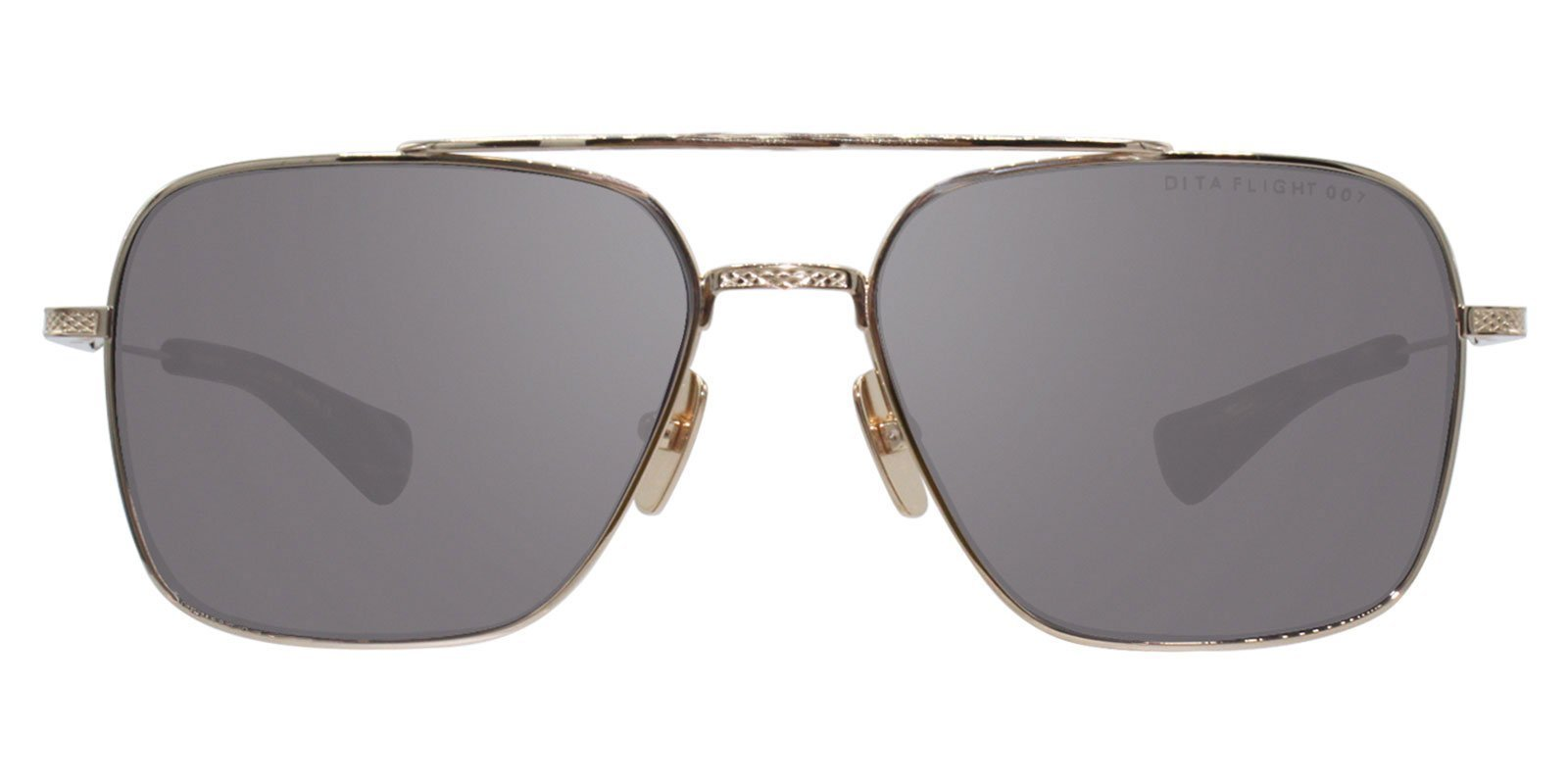 9257716c860 Dita - Flight-Seven Gold - Gray sunglasses