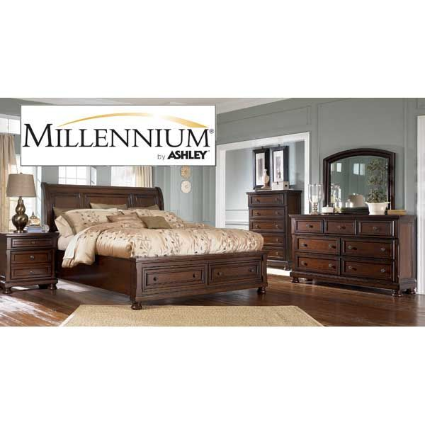 American Furniture Warehouse    Virtual Store    B697 5PCSET B697 5PCSET  Porter 5 Piece Bedroom Set Ashley