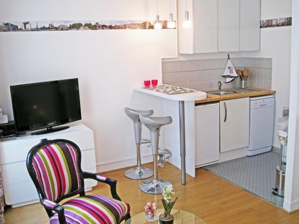 ☆ Sous location vacances Studio Le Marais à 2 pas du SunCity, 21m2 - location studio meuble ile de france