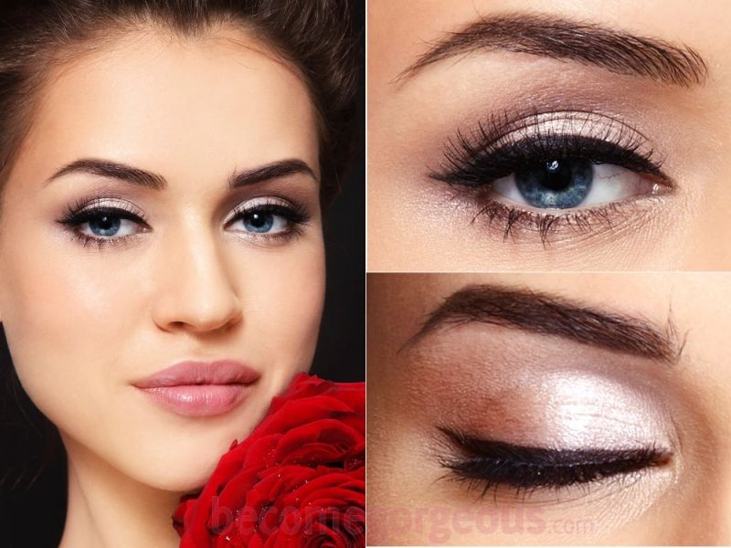 Makeup Ideas under eye hollows makeup photographs : Cat Eye Makeup for daytime...perfect for the everyday! |